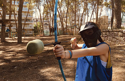 Archery Tag in Bosc Aventura Salou