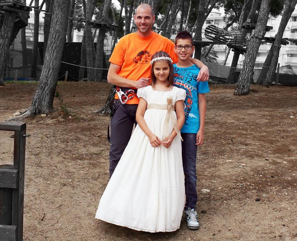 A different communion Bosc Aventura Salou