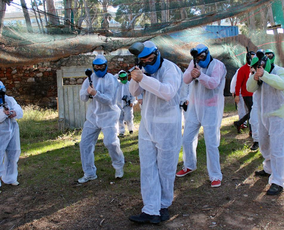 Paintball a Bosc Aventura Salou