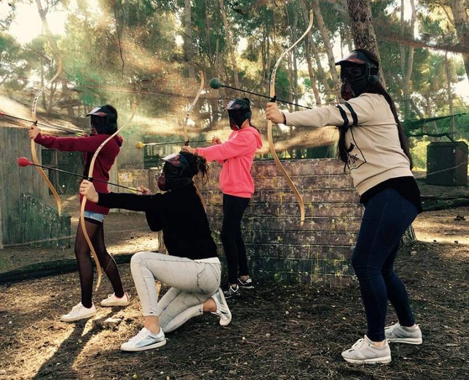 Game of Archers in Bosc Aventura Salou
